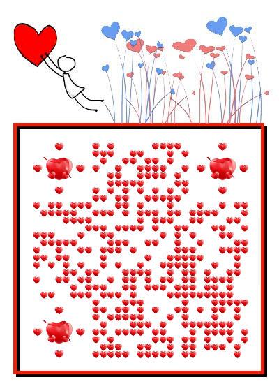 抓住你的心爱情表白二维码