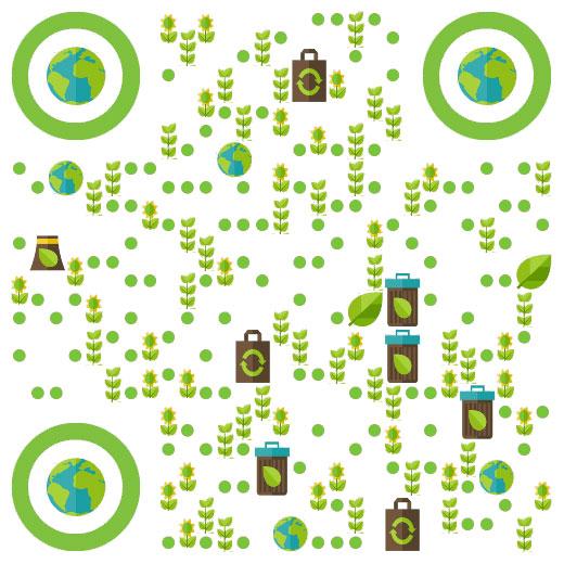 公益 绿色环保二维码生成