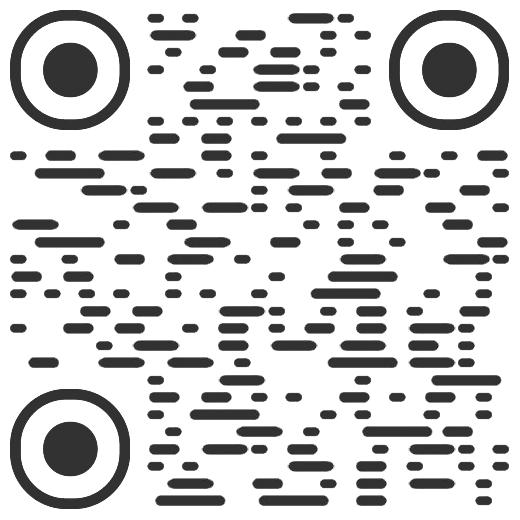 线条简约艺术二维码