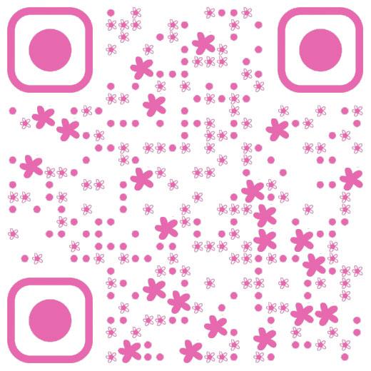 粉红色小清新创意二维码免费制作