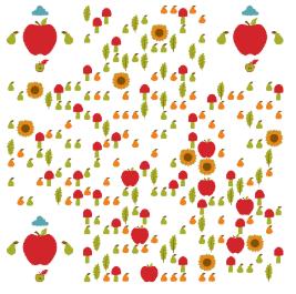 秋天水果-二维码